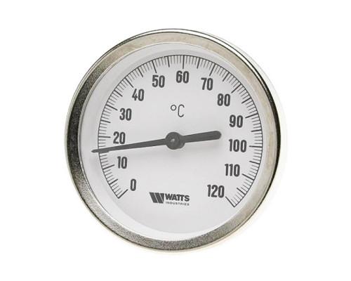 Watts F+R801(T) 63/50 Термометр биметаллический с погружной гильзой 63 мм, штуцер 50 мм 10005800