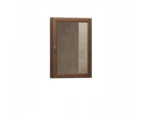 Зеркало-Шкаф угловой Opadiris Клио R 45 цвет орех антикварный
