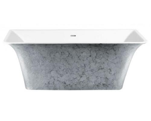 Ванна акриловая LAGARD EVORA Treasure Silver 160x77 см