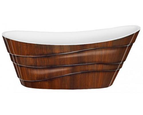 Ванна акриловая LAGARD ALYA Brown Wood 170x75 см