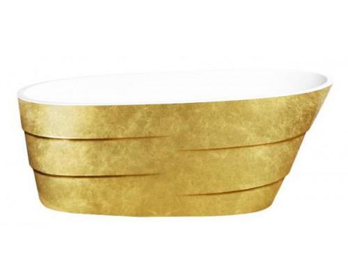 Ванна акриловая LAGARD AUGUSTE Treasure Gold 170x75 см