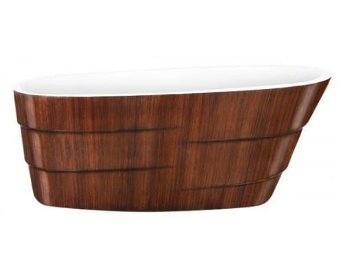 Ванна акриловая LAGARD AUGUSTE Brown Wood 170x75 см