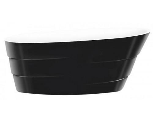 Ванна акриловая LAGARD AUGUSTE Black Agate 170x75 см