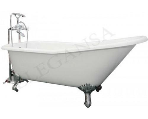 Ванна чугунная 170x75 Elegansa Schale CHROME