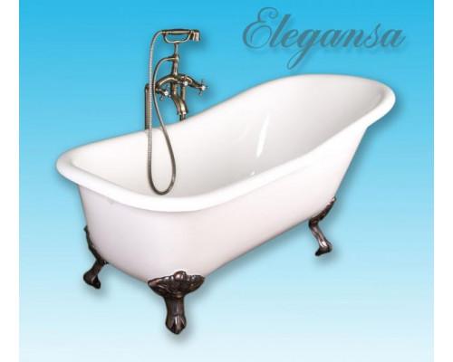 Ванна чугунная 170x75 Elegansa Schale ANTIQUE