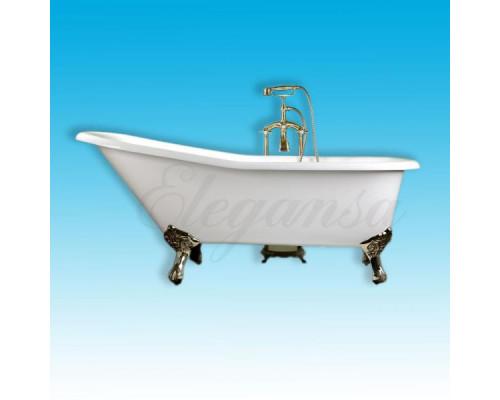 Ванна чугунная 170x75 Elegansa Schale Gold
