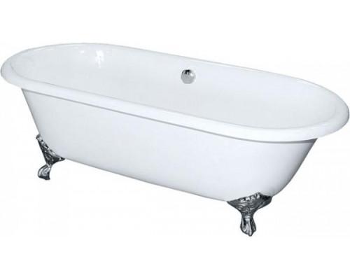 Ванна чугунная 170x75 Elegansa Gretta Chrome