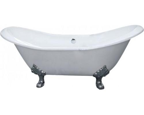 Ванна чугунная 180x80 Elegansa Taiss Chrome