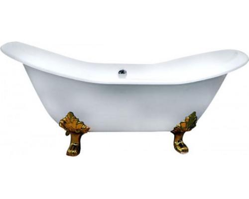 Ванна чугунная 180x80 Elegansa Taiss Gold