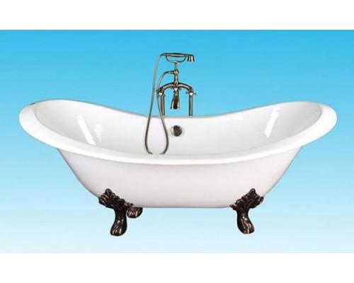 Ванна чугунная 180x80 Elegansa Taiss Bronze