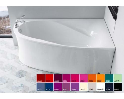 Ванна 170x105 Astra-Form Селена правая в цвете RAL
