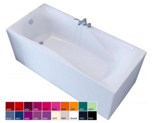 Ванна 170x80 Astra-Form Вега Люкс в цвете RAL