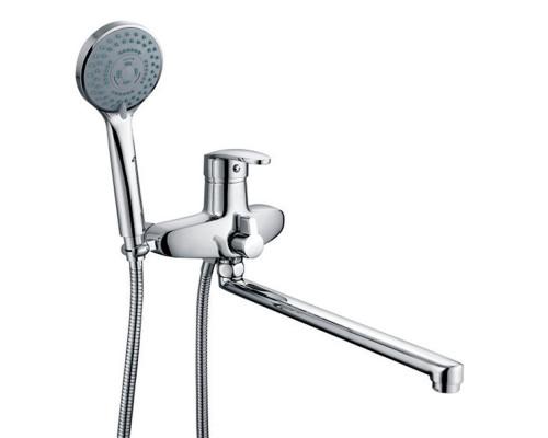 Ganzer Elizabeth Смеситель однорычажный для ванны с длинным изливом, хром
