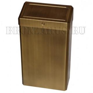 KSM201 Merida Корзина для мусора в бронзе