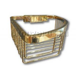 EMCO Полка угловая одинарная золото
